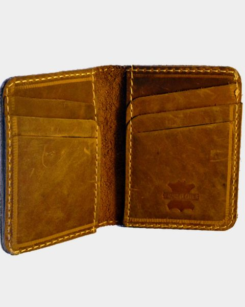 Open Edge Leather Card Cover
