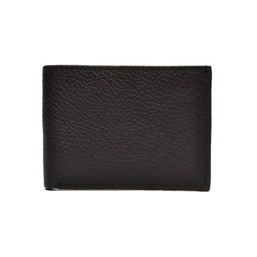 black dollar size wallet