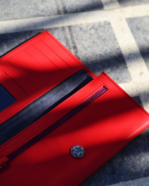 Billfold Wallet – Red