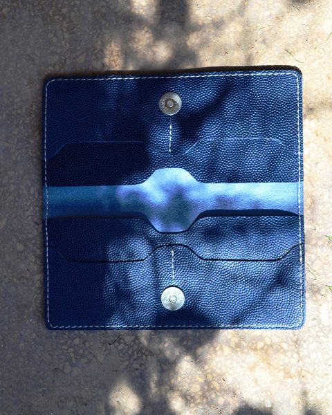 open edge milled blue