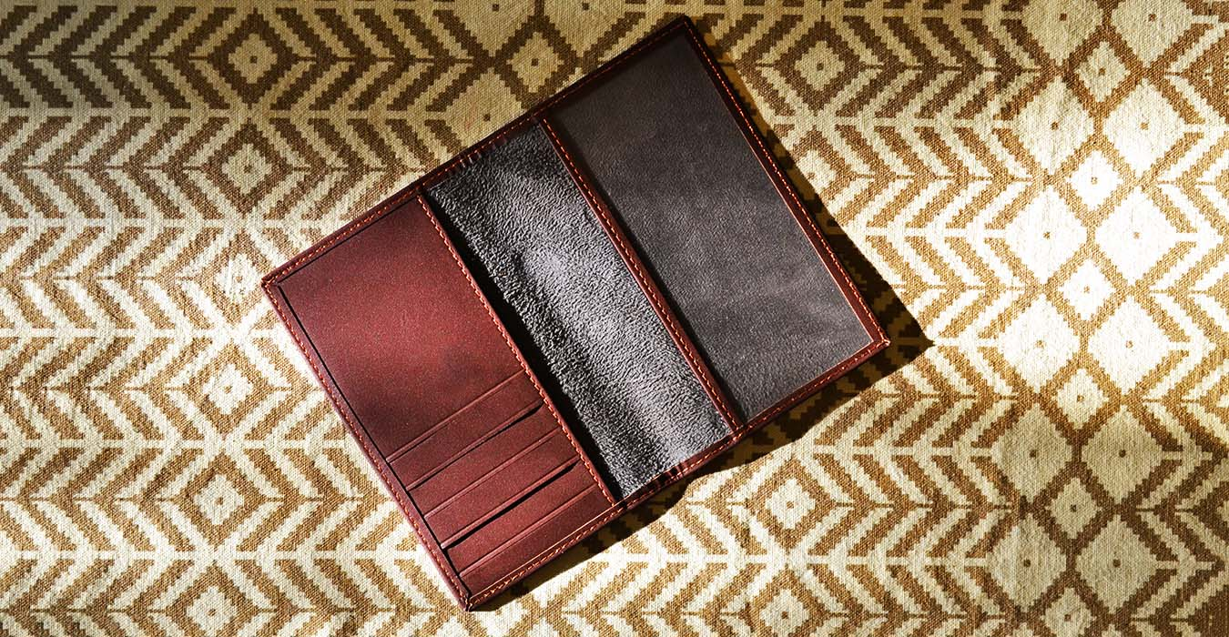 variety of leather products