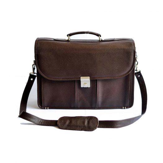 Laptop Messenger Bag - Brown1