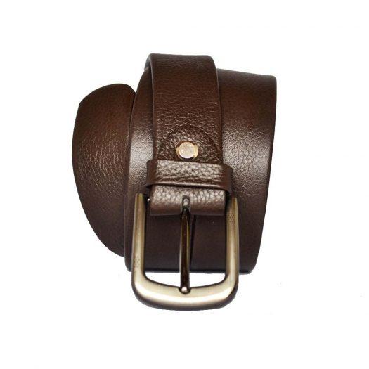 Brown dress belt 30mm