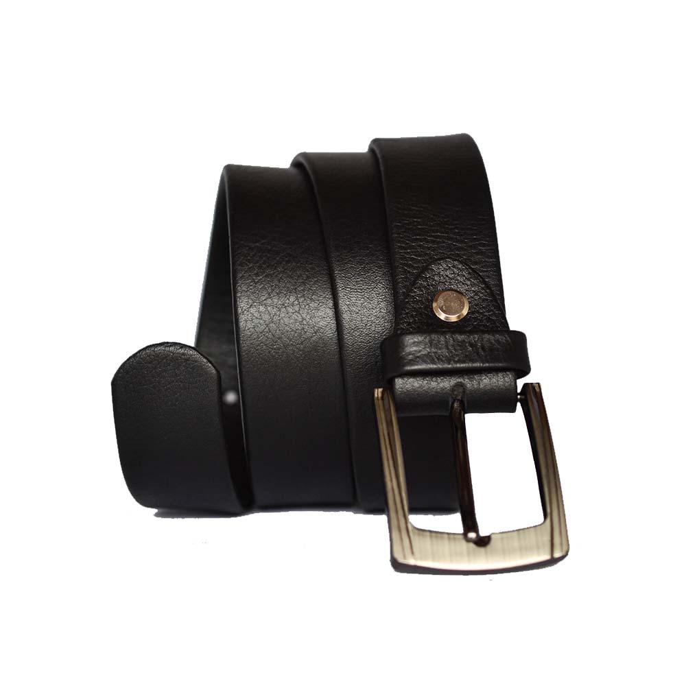 Black dress belt 30mm