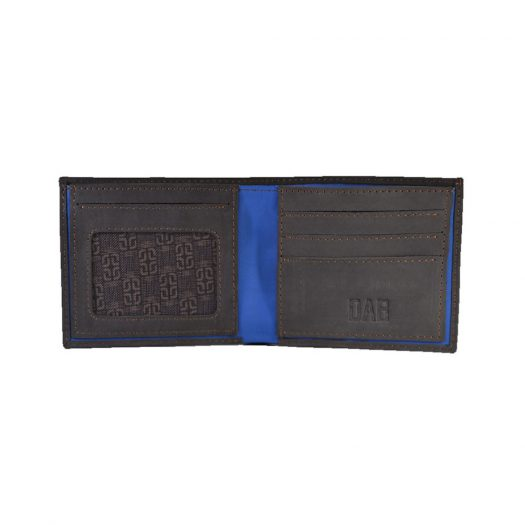Pull up leather wallet - Dark Brown
